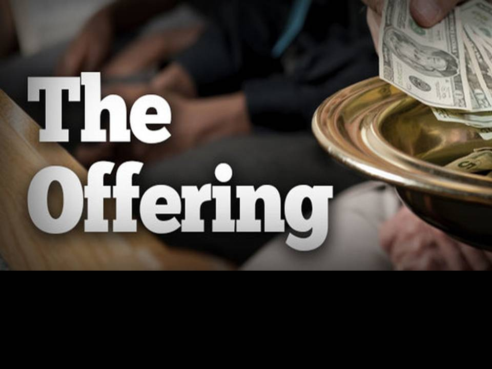 We are an Offering - Gloria Dei Northbrook